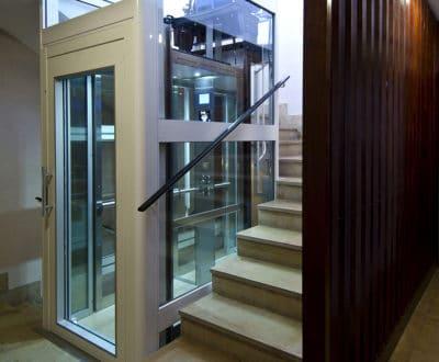 Ascenseur sans local de machine