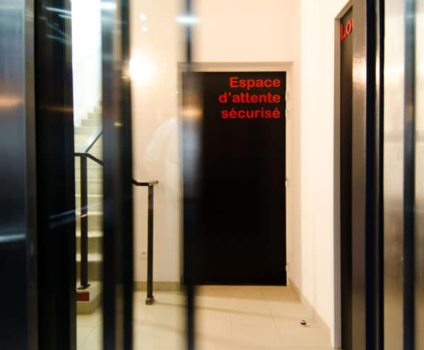 Espace Eden la Cie : ascenseur d'entreprise