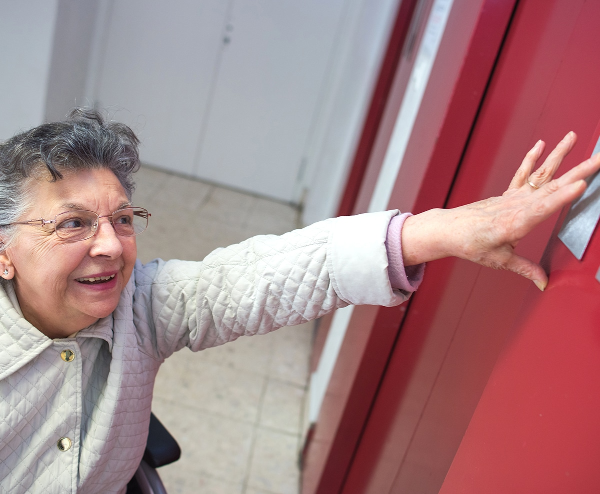 Mobilité des personnes âgées