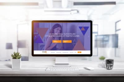 Nouveau site web Delta Ascenseurs